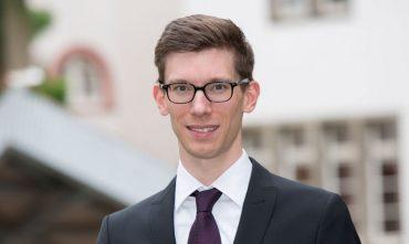 Christian Schiffer beim KlarText - Preis für Wissenschaftskommunikation 2017