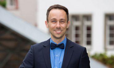 Marcel Mohr beim KlarText - Preis für Wissenschaftskommunikation 2017