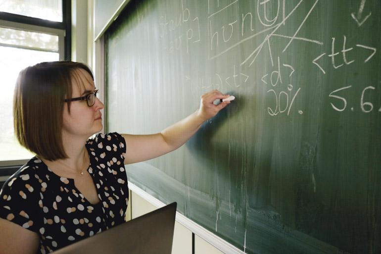 Ronja Laarmann-Quante nutzt Computerlinguistik